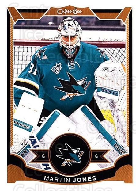 2015-16 O-Pee-chee Update #8 Martin Jones<br/>9 In Stock - $1.00 each - <a href=https://centericecollectibles.foxycart.com/cart?name=2015-16%20O-Pee-chee%20Update%20%238%20Martin%20Jones...&quantity_max=9&price=$1.00&code=694589 class=foxycart> Buy it now! </a>