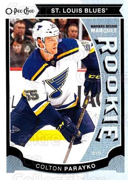 2015-16 O-Pee-chee Update #18 Colton Parayko<br/>9 In Stock - $3.00 each - <a href=https://centericecollectibles.foxycart.com/cart?name=2015-16%20O-Pee-chee%20Update%20%2318%20Colton%20Parayko...&quantity_max=9&price=$3.00&code=694599 class=foxycart> Buy it now! </a>