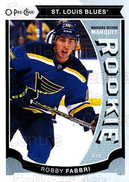 2015-16 O-Pee-chee Update #24 Robby Fabbri<br/>8 In Stock - $3.00 each - <a href=https://centericecollectibles.foxycart.com/cart?name=2015-16%20O-Pee-chee%20Update%20%2324%20Robby%20Fabbri...&quantity_max=8&price=$3.00&code=694605 class=foxycart> Buy it now! </a>