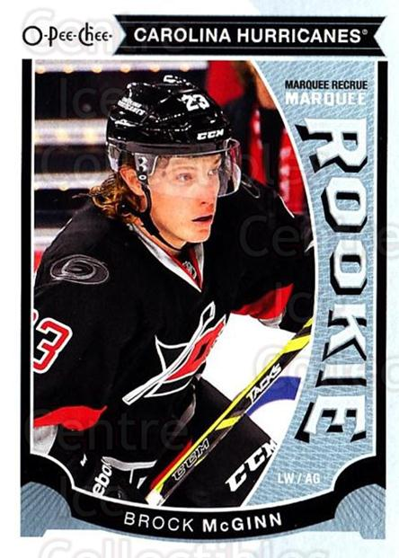 2015-16 O-Pee-chee Update #25 Brock McGinn<br/>8 In Stock - $3.00 each - <a href=https://centericecollectibles.foxycart.com/cart?name=2015-16%20O-Pee-chee%20Update%20%2325%20Brock%20McGinn...&quantity_max=8&price=$3.00&code=694606 class=foxycart> Buy it now! </a>