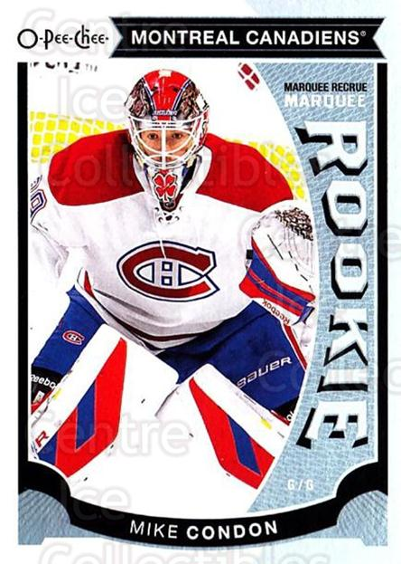 2015-16 O-Pee-chee Update #26 Mike Condon<br/>7 In Stock - $3.00 each - <a href=https://centericecollectibles.foxycart.com/cart?name=2015-16%20O-Pee-chee%20Update%20%2326%20Mike%20Condon...&quantity_max=7&price=$3.00&code=694607 class=foxycart> Buy it now! </a>