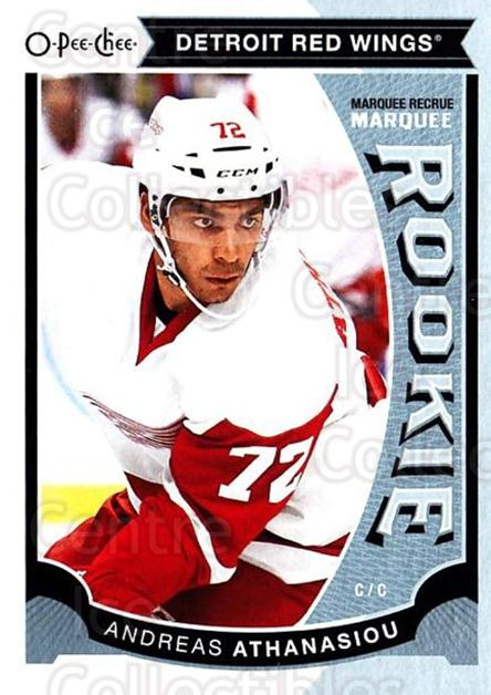 2015-16 O-Pee-chee Update #37 Andreas Athanasiou<br/>9 In Stock - $3.00 each - <a href=https://centericecollectibles.foxycart.com/cart?name=2015-16%20O-Pee-chee%20Update%20%2337%20Andreas%20Athanas...&quantity_max=9&price=$3.00&code=694618 class=foxycart> Buy it now! </a>