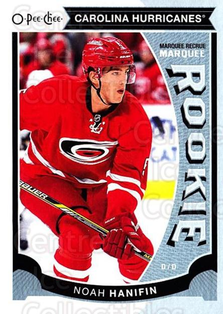 2015-16 O-Pee-chee Update #46 Noah Hanifin<br/>8 In Stock - $3.00 each - <a href=https://centericecollectibles.foxycart.com/cart?name=2015-16%20O-Pee-chee%20Update%20%2346%20Noah%20Hanifin...&quantity_max=8&price=$3.00&code=694627 class=foxycart> Buy it now! </a>