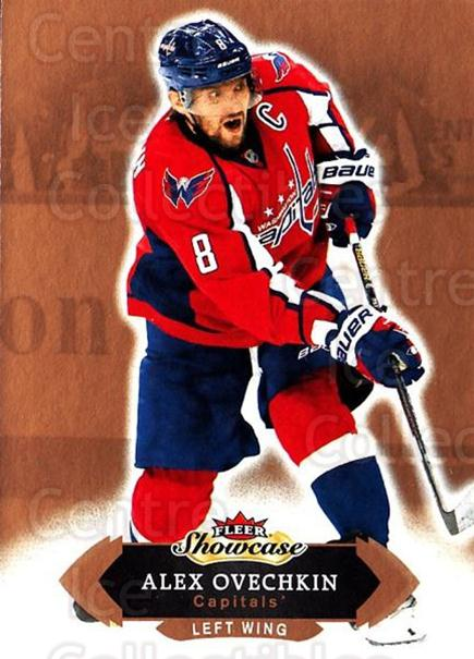 2016-17 Fleer Showcase #5 Alexander Ovechkin<br/>4 In Stock - $2.00 each - <a href=https://centericecollectibles.foxycart.com/cart?name=2016-17%20Fleer%20Showcase%20%235%20Alexander%20Ovech...&price=$2.00&code=694726 class=foxycart> Buy it now! </a>