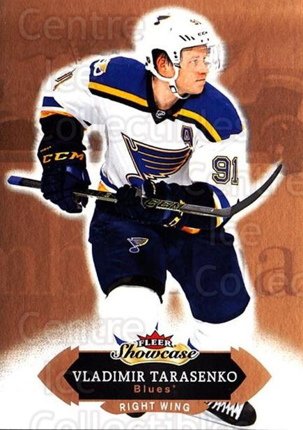 2016-17 Fleer Showcase #20 Vladimir Tarasenko<br/>5 In Stock - $1.00 each - <a href=https://centericecollectibles.foxycart.com/cart?name=2016-17%20Fleer%20Showcase%20%2320%20Vladimir%20Tarase...&quantity_max=5&price=$1.00&code=694741 class=foxycart> Buy it now! </a>