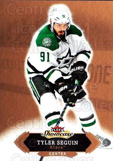 2016-17 Fleer Showcase #25 Tyler Seguin<br/>4 In Stock - $1.00 each - <a href=https://centericecollectibles.foxycart.com/cart?name=2016-17%20Fleer%20Showcase%20%2325%20Tyler%20Seguin...&quantity_max=4&price=$1.00&code=694746 class=foxycart> Buy it now! </a>