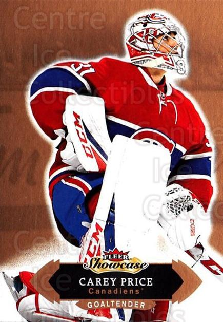 2016-17 Fleer Showcase #51 Carey Price<br/>2 In Stock - $3.00 each - <a href=https://centericecollectibles.foxycart.com/cart?name=2016-17%20Fleer%20Showcase%20%2351%20Carey%20Price...&price=$3.00&code=694772 class=foxycart> Buy it now! </a>