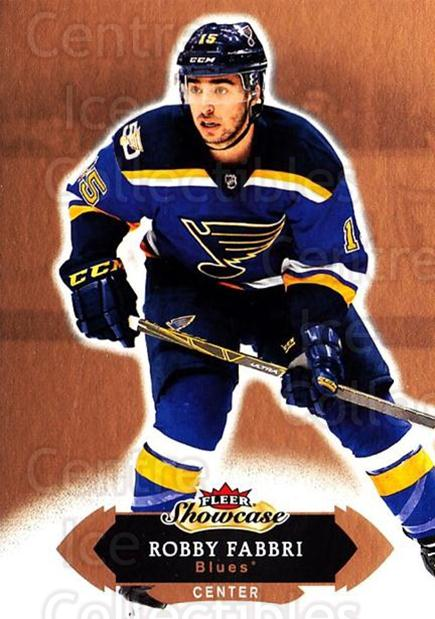 2016-17 Fleer Showcase #57 Robby Fabbri<br/>5 In Stock - $1.00 each - <a href=https://centericecollectibles.foxycart.com/cart?name=2016-17%20Fleer%20Showcase%20%2357%20Robby%20Fabbri...&quantity_max=5&price=$1.00&code=694778 class=foxycart> Buy it now! </a>