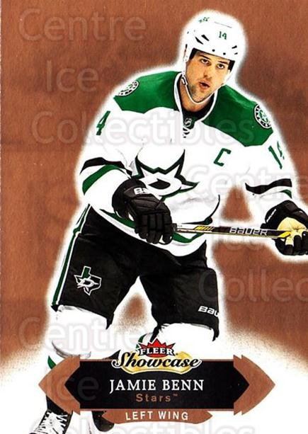 2016-17 Fleer Showcase #81 Jamie Benn<br/>5 In Stock - $1.00 each - <a href=https://centericecollectibles.foxycart.com/cart?name=2016-17%20Fleer%20Showcase%20%2381%20Jamie%20Benn...&quantity_max=5&price=$1.00&code=694802 class=foxycart> Buy it now! </a>