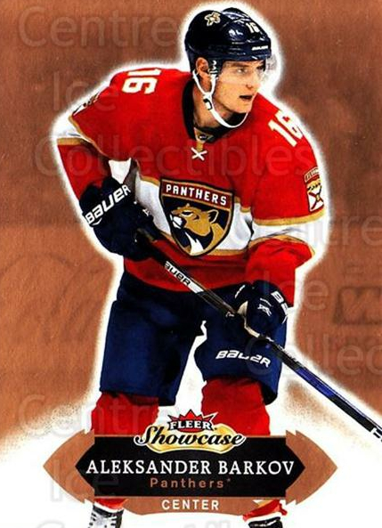 2016-17 Fleer Showcase #94 Aleksander Barkov<br/>4 In Stock - $1.00 each - <a href=https://centericecollectibles.foxycart.com/cart?name=2016-17%20Fleer%20Showcase%20%2394%20Aleksander%20Bark...&quantity_max=4&price=$1.00&code=694815 class=foxycart> Buy it now! </a>