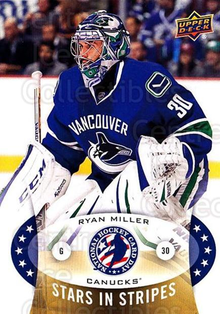 2015 Upper Deck National Hockey Card Day USA #1 Ryan Miller<br/>6 In Stock - $2.00 each - <a href=https://centericecollectibles.foxycart.com/cart?name=2015%20Upper%20Deck%20National%20Hockey%20Card%20Day%20USA%20%231%20Ryan%20Miller...&quantity_max=6&price=$2.00&code=694936 class=foxycart> Buy it now! </a>