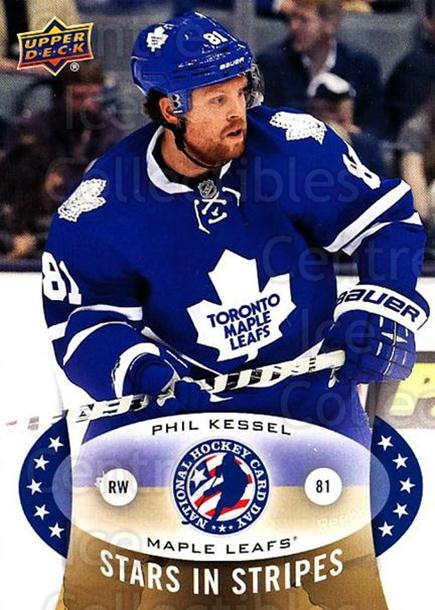 2015 Upper Deck National Hockey Card Day USA #4 Phil Kessel<br/>6 In Stock - $2.00 each - <a href=https://centericecollectibles.foxycart.com/cart?name=2015%20Upper%20Deck%20National%20Hockey%20Card%20Day%20USA%20%234%20Phil%20Kessel...&quantity_max=6&price=$2.00&code=694939 class=foxycart> Buy it now! </a>