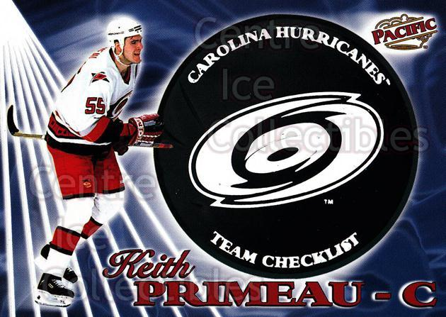 1998-99 Pacific Team Checklists #5 Keith Primeau<br/>4 In Stock - $3.00 each - <a href=https://centericecollectibles.foxycart.com/cart?name=1998-99%20Pacific%20Team%20Checklists%20%235%20Keith%20Primeau...&quantity_max=4&price=$3.00&code=69539 class=foxycart> Buy it now! </a>