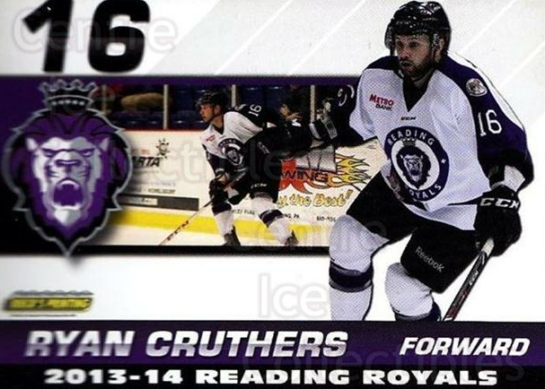 2013-14 Reading Royals #9 Ryan Cruthers<br/>2 In Stock - $3.00 each - <a href=https://centericecollectibles.foxycart.com/cart?name=2013-14%20Reading%20Royals%20%239%20Ryan%20Cruthers...&price=$3.00&code=696257 class=foxycart> Buy it now! </a>