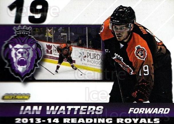 2013-14 Reading Royals #27 Ian Watters<br/>2 In Stock - $3.00 each - <a href=https://centericecollectibles.foxycart.com/cart?name=2013-14%20Reading%20Royals%20%2327%20Ian%20Watters...&price=$3.00&code=696275 class=foxycart> Buy it now! </a>