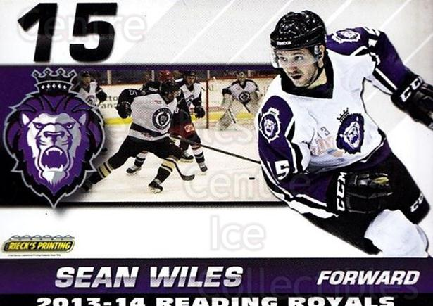 2013-14 Reading Royals #28 Sean Wiles<br/>1 In Stock - $3.00 each - <a href=https://centericecollectibles.foxycart.com/cart?name=2013-14%20Reading%20Royals%20%2328%20Sean%20Wiles...&price=$3.00&code=696276 class=foxycart> Buy it now! </a>