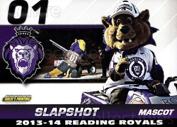 2013-14 Reading Royals #30 Mascot<br/>2 In Stock - $3.00 each - <a href=https://centericecollectibles.foxycart.com/cart?name=2013-14%20Reading%20Royals%20%2330%20Mascot...&price=$3.00&code=696278 class=foxycart> Buy it now! </a>