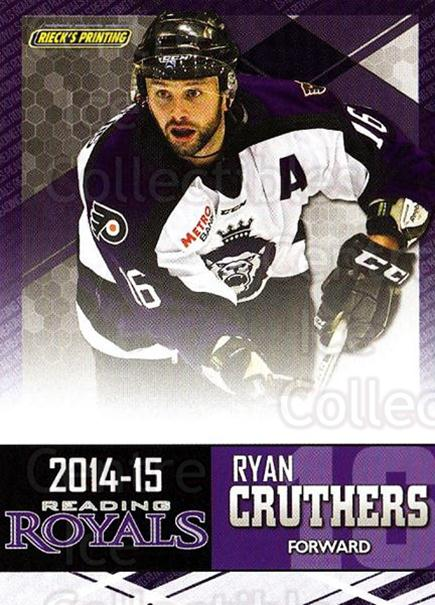 2014-15 Reading Royals #5 Ryan Cruthers<br/>2 In Stock - $3.00 each - <a href=https://centericecollectibles.foxycart.com/cart?name=2014-15%20Reading%20Royals%20%235%20Ryan%20Cruthers...&price=$3.00&code=696283 class=foxycart> Buy it now! </a>