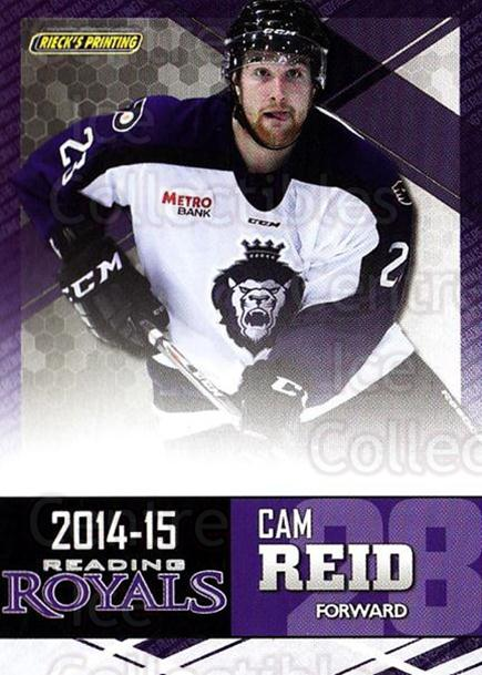 2014-15 Reading Royals #21 Cam Reid<br/>2 In Stock - $3.00 each - <a href=https://centericecollectibles.foxycart.com/cart?name=2014-15%20Reading%20Royals%20%2321%20Cam%20Reid...&price=$3.00&code=696299 class=foxycart> Buy it now! </a>
