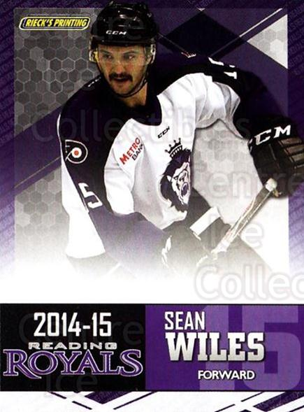 2014-15 Reading Royals #24 Sean Wiles<br/>1 In Stock - $3.00 each - <a href=https://centericecollectibles.foxycart.com/cart?name=2014-15%20Reading%20Royals%20%2324%20Sean%20Wiles...&price=$3.00&code=696302 class=foxycart> Buy it now! </a>