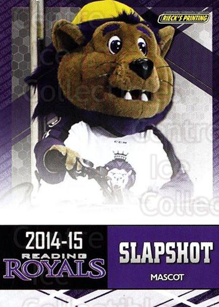 2014-15 Reading Royals #27 Mascot<br/>2 In Stock - $3.00 each - <a href=https://centericecollectibles.foxycart.com/cart?name=2014-15%20Reading%20Royals%20%2327%20Mascot...&price=$3.00&code=696305 class=foxycart> Buy it now! </a>