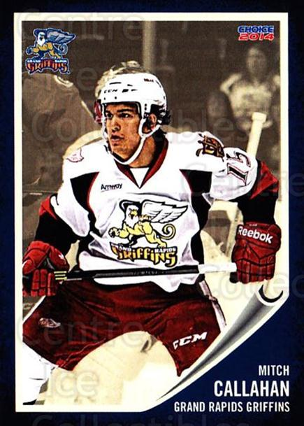 2013-14 Grand Rapids Griffins #2 Mitch Callahan<br/>2 In Stock - $3.00 each - <a href=https://centericecollectibles.foxycart.com/cart?name=2013-14%20Grand%20Rapids%20Griffins%20%232%20Mitch%20Callahan...&price=$3.00&code=696307 class=foxycart> Buy it now! </a>
