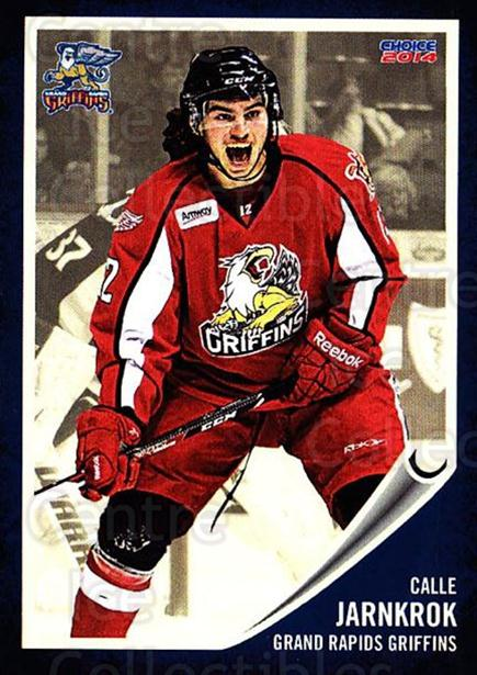 2013-14 Grand Rapids Griffins #12 Calle Jarnkrok<br/>2 In Stock - $3.00 each - <a href=https://centericecollectibles.foxycart.com/cart?name=2013-14%20Grand%20Rapids%20Griffins%20%2312%20Calle%20Jarnkrok...&price=$3.00&code=696317 class=foxycart> Buy it now! </a>