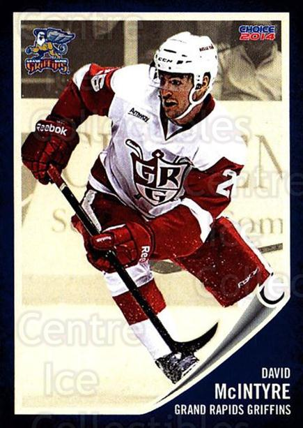 2013-14 Grand Rapids Griffins #17 David Mcintyre<br/>1 In Stock - $3.00 each - <a href=https://centericecollectibles.foxycart.com/cart?name=2013-14%20Grand%20Rapids%20Griffins%20%2317%20David%20Mcintyre...&price=$3.00&code=696322 class=foxycart> Buy it now! </a>