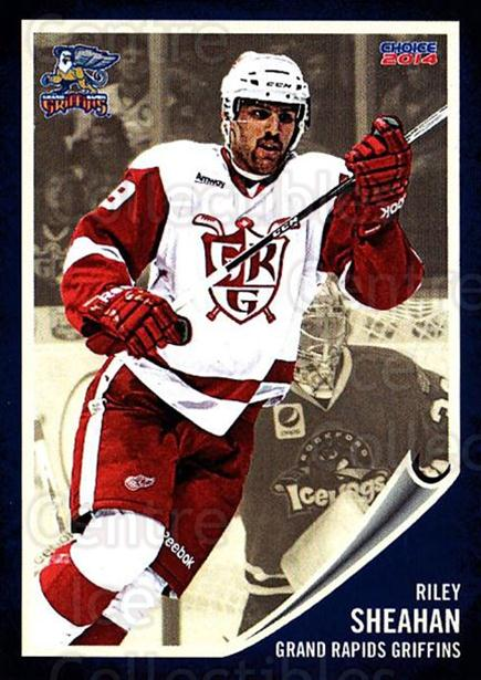 2013-14 Grand Rapids Griffins #23 Riley Sheahan<br/>2 In Stock - $3.00 each - <a href=https://centericecollectibles.foxycart.com/cart?name=2013-14%20Grand%20Rapids%20Griffins%20%2323%20Riley%20Sheahan...&price=$3.00&code=696328 class=foxycart> Buy it now! </a>
