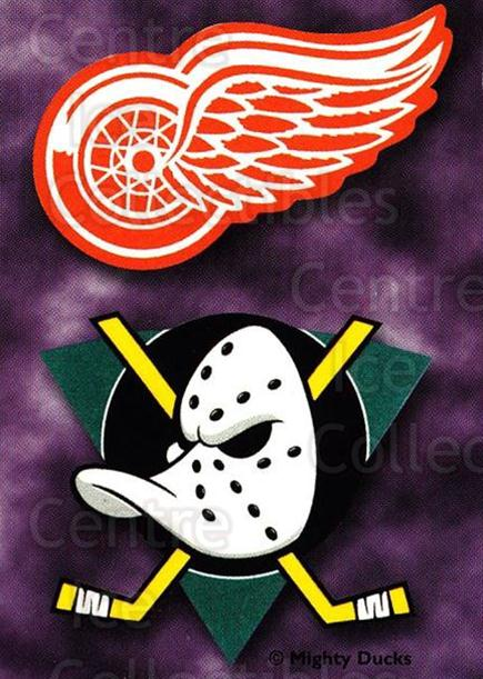 1999-00 Cincinnati Mighty Ducks #1 Anaheim Mighty Ducks, Detroit Red Wings<br/>1 In Stock - $3.00 each - <a href=https://centericecollectibles.foxycart.com/cart?name=1999-00%20Cincinnati%20Mighty%20Ducks%20%231%20Anaheim%20Mighty%20...&quantity_max=1&price=$3.00&code=696429 class=foxycart> Buy it now! </a>