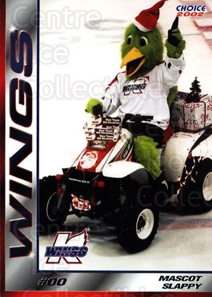 2001-02 Kalamazoo Wings #24 Mascot<br/>1 In Stock - $3.00 each - <a href=https://centericecollectibles.foxycart.com/cart?name=2001-02%20Kalamazoo%20Wings%20%2324%20Mascot...&quantity_max=1&price=$3.00&code=696563 class=foxycart> Buy it now! </a>