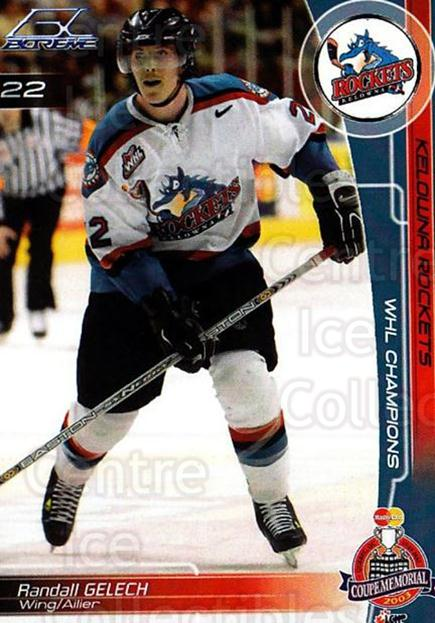 2002-03 Kelowna Rockets Memorial Cup #16 Randall Gelech<br/>1 In Stock - $3.00 each - <a href=https://centericecollectibles.foxycart.com/cart?name=2002-03%20Kelowna%20Rockets%20Memorial%20Cup%20%2316%20Randall%20Gelech...&quantity_max=1&price=$3.00&code=696684 class=foxycart> Buy it now! </a>