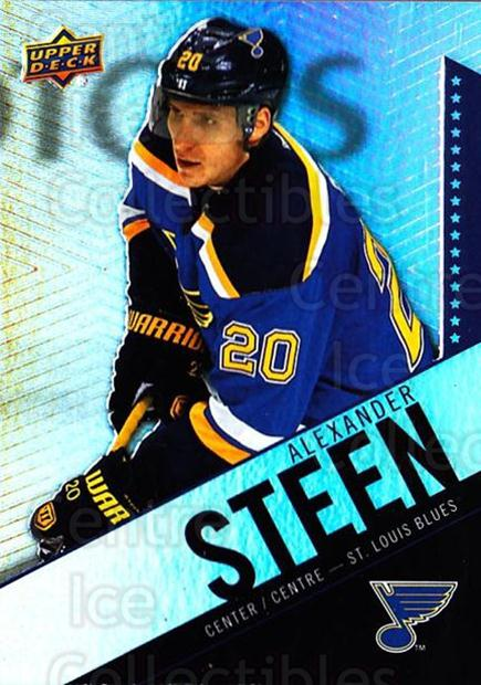 2015-16 Tim Hortons #20 Alexander Steen<br/>16 In Stock - $1.00 each - <a href=https://centericecollectibles.foxycart.com/cart?name=2015-16%20Tim%20Hortons%20%2320%20Alexander%20Steen...&quantity_max=16&price=$1.00&code=696708 class=foxycart> Buy it now! </a>