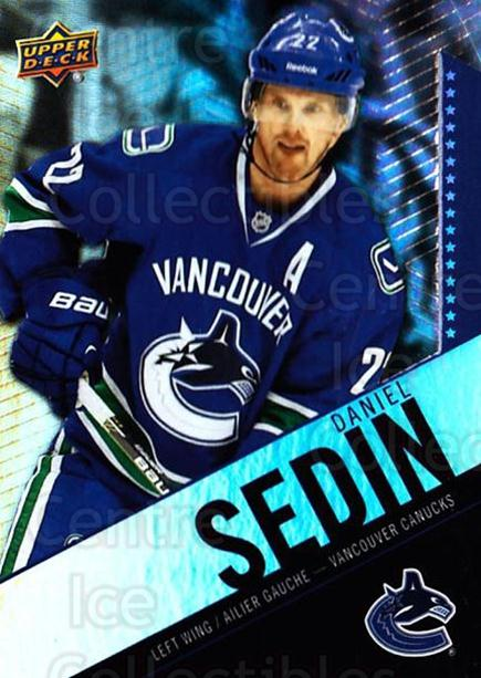 2015-16 Tim Hortons #22 Daniel Sedin<br/>2 In Stock - $1.00 each - <a href=https://centericecollectibles.foxycart.com/cart?name=2015-16%20Tim%20Hortons%20%2322%20Daniel%20Sedin...&price=$1.00&code=696710 class=foxycart> Buy it now! </a>