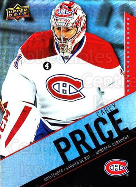 2015-16 Tim Hortons #31 Carey Price<br/>9 In Stock - $3.00 each - <a href=https://centericecollectibles.foxycart.com/cart?name=2015-16%20Tim%20Hortons%20%2331%20Carey%20Price...&price=$3.00&code=696719 class=foxycart> Buy it now! </a>