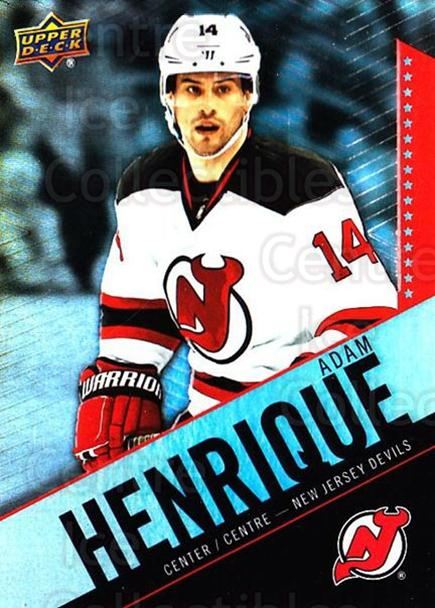 2015-16 Tim Hortons #43 Adam Henrique<br/>17 In Stock - $1.00 each - <a href=https://centericecollectibles.foxycart.com/cart?name=2015-16%20Tim%20Hortons%20%2343%20Adam%20Henrique...&quantity_max=17&price=$1.00&code=696731 class=foxycart> Buy it now! </a>