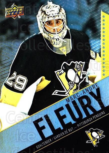 2015-16 Tim Hortons #64 Marc-Andre Fleury<br/>11 In Stock - $2.00 each - <a href=https://centericecollectibles.foxycart.com/cart?name=2015-16%20Tim%20Hortons%20%2364%20Marc-Andre%20Fleu...&quantity_max=11&price=$2.00&code=696752 class=foxycart> Buy it now! </a>