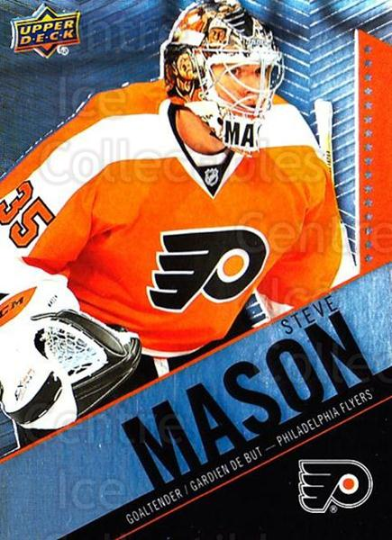 2015-16 Tim Hortons #85 Steve Mason<br/>17 In Stock - $1.00 each - <a href=https://centericecollectibles.foxycart.com/cart?name=2015-16%20Tim%20Hortons%20%2385%20Steve%20Mason...&quantity_max=17&price=$1.00&code=696773 class=foxycart> Buy it now! </a>