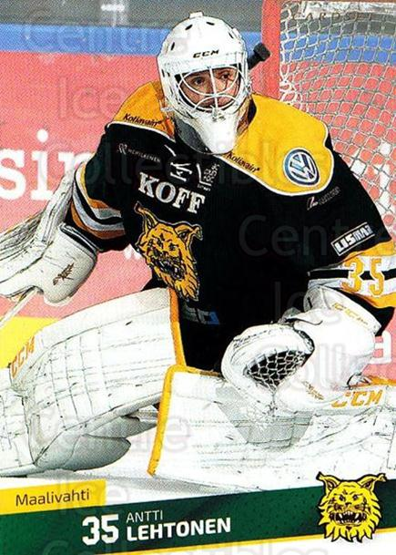 2016-17 Finnish Cardset #217 Antti Lehtonen<br/>3 In Stock - $2.00 each - <a href=https://centericecollectibles.foxycart.com/cart?name=2016-17%20Finnish%20Cardset%20%23217%20Antti%20Lehtonen...&quantity_max=3&price=$2.00&code=696825 class=foxycart> Buy it now! </a>