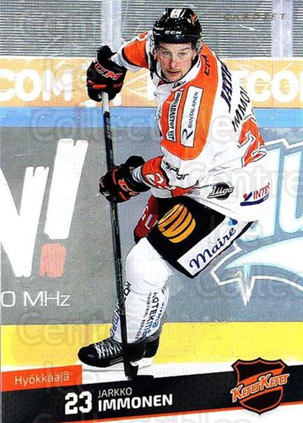 2016-17 Finnish Cardset #273 Jarkko Immonen<br/>4 In Stock - $2.00 each - <a href=https://centericecollectibles.foxycart.com/cart?name=2016-17%20Finnish%20Cardset%20%23273%20Jarkko%20Immonen...&quantity_max=4&price=$2.00&code=696881 class=foxycart> Buy it now! </a>