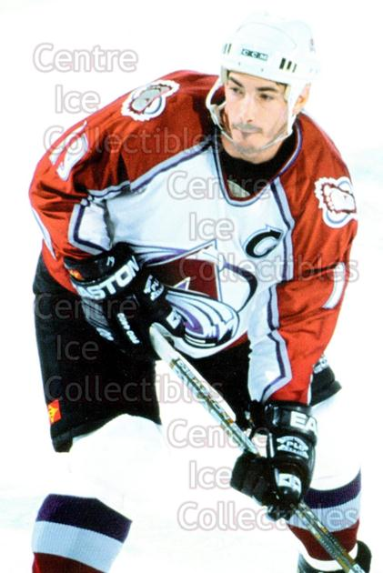 1998-99 Panini Photocards #72 Joe Sakic<br/>14 In Stock - $3.00 each - <a href=https://centericecollectibles.foxycart.com/cart?name=1998-99%20Panini%20Photocards%20%2372%20Joe%20Sakic...&quantity_max=14&price=$3.00&code=69707 class=foxycart> Buy it now! </a>
