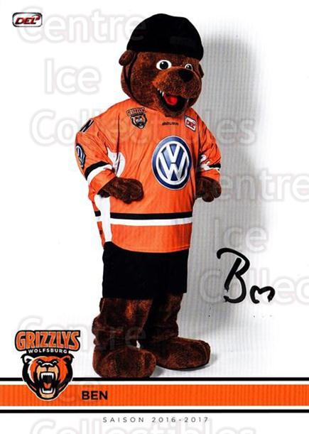 2016-17 German Wolfsburg Grizzly Adams Postcards #27 Mascot<br/>1 In Stock - $3.00 each - <a href=https://centericecollectibles.foxycart.com/cart?name=2016-17%20German%20Wolfsburg%20Grizzly%20Adams%20Postcards%20%2327%20Mascot...&quantity_max=1&price=$3.00&code=697133 class=foxycart> Buy it now! </a>