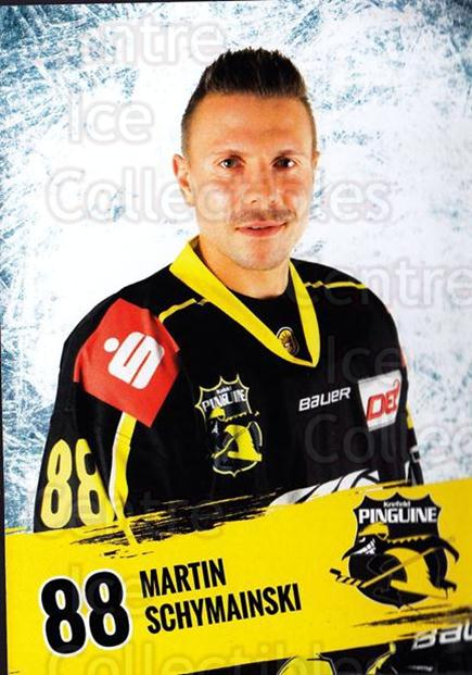 2016-17 German Krefeld Penguins Postcards #24 Martin Schymaninski<br/>3 In Stock - $3.00 each - <a href=https://centericecollectibles.foxycart.com/cart?name=2016-17%20German%20Krefeld%20Penguins%20Postcards%20%2324%20Martin%20Schymani...&quantity_max=3&price=$3.00&code=697183 class=foxycart> Buy it now! </a>