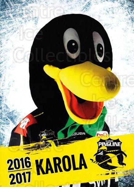 2016-17 German Krefeld Penguins Postcards #32 Mascot<br/>2 In Stock - $3.00 each - <a href=https://centericecollectibles.foxycart.com/cart?name=2016-17%20German%20Krefeld%20Penguins%20Postcards%20%2332%20Mascot...&quantity_max=2&price=$3.00&code=697191 class=foxycart> Buy it now! </a>
