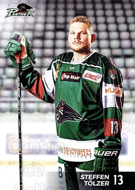 2016-17 German Augsburg Panthers Postcards #4 Steffen Tolzer<br/>2 In Stock - $3.00 each - <a href=https://centericecollectibles.foxycart.com/cart?name=2016-17%20German%20Augsburg%20Panthers%20Postcards%20%234%20Steffen%20Tolzer...&quantity_max=2&price=$3.00&code=697196 class=foxycart> Buy it now! </a>