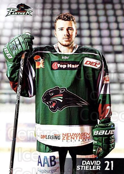 2016-17 German Augsburg Panthers Postcards #15 David Stieler<br/>3 In Stock - $3.00 each - <a href=https://centericecollectibles.foxycart.com/cart?name=2016-17%20German%20Augsburg%20Panthers%20Postcards%20%2315%20David%20Stieler...&quantity_max=3&price=$3.00&code=697207 class=foxycart> Buy it now! </a>