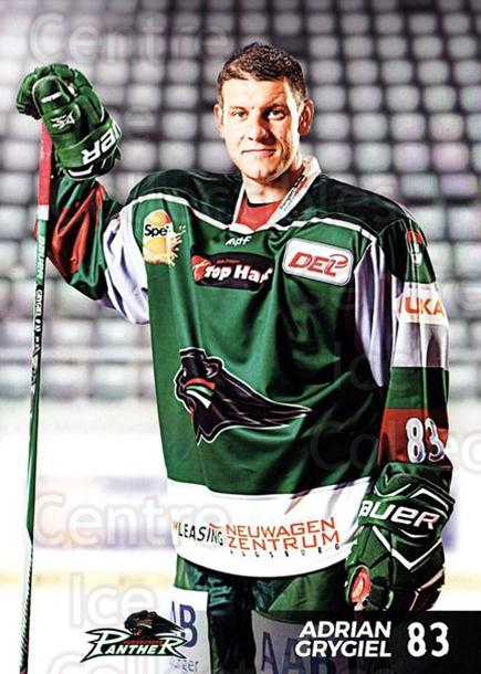2016-17 German Augsburg Panthers Postcards #20 Adrian Grygiel<br/>3 In Stock - $3.00 each - <a href=https://centericecollectibles.foxycart.com/cart?name=2016-17%20German%20Augsburg%20Panthers%20Postcards%20%2320%20Adrian%20Grygiel...&quantity_max=3&price=$3.00&code=697212 class=foxycart> Buy it now! </a>