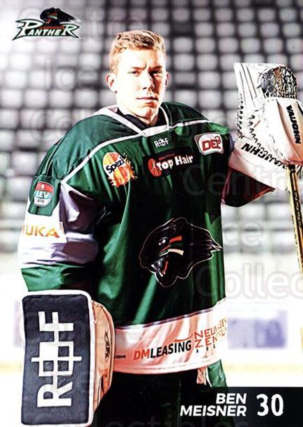 2016-17 German Augsburg Panthers Postcards #27 Ben meisner<br/>3 In Stock - $3.00 each - <a href=https://centericecollectibles.foxycart.com/cart?name=2016-17%20German%20Augsburg%20Panthers%20Postcards%20%2327%20Ben%20meisner...&quantity_max=3&price=$3.00&code=697219 class=foxycart> Buy it now! </a>