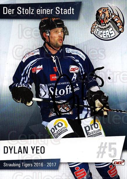 2016-17 German Straubing Tigers Postcards #2 Dylan Yeo<br/>1 In Stock - $3.00 each - <a href=https://centericecollectibles.foxycart.com/cart?name=2016-17%20German%20Straubing%20Tigers%20Postcards%20%232%20Dylan%20Yeo...&quantity_max=1&price=$3.00&code=697248 class=foxycart> Buy it now! </a>