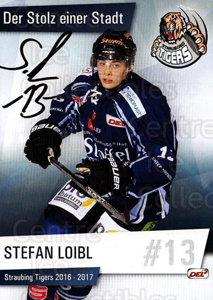 2016-17 German Straubing Tigers Postcards #6 Stefan Loibl<br/>1 In Stock - $3.00 each - <a href=https://centericecollectibles.foxycart.com/cart?name=2016-17%20German%20Straubing%20Tigers%20Postcards%20%236%20Stefan%20Loibl...&quantity_max=1&price=$3.00&code=697252 class=foxycart> Buy it now! </a>